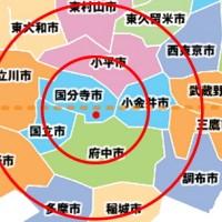 国分寺市の隣接の市町村の小学校や中学校