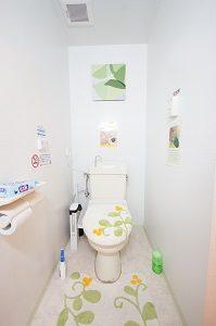 国分寺 レンタルスタジオ の トイレ はとってもキレイです。
